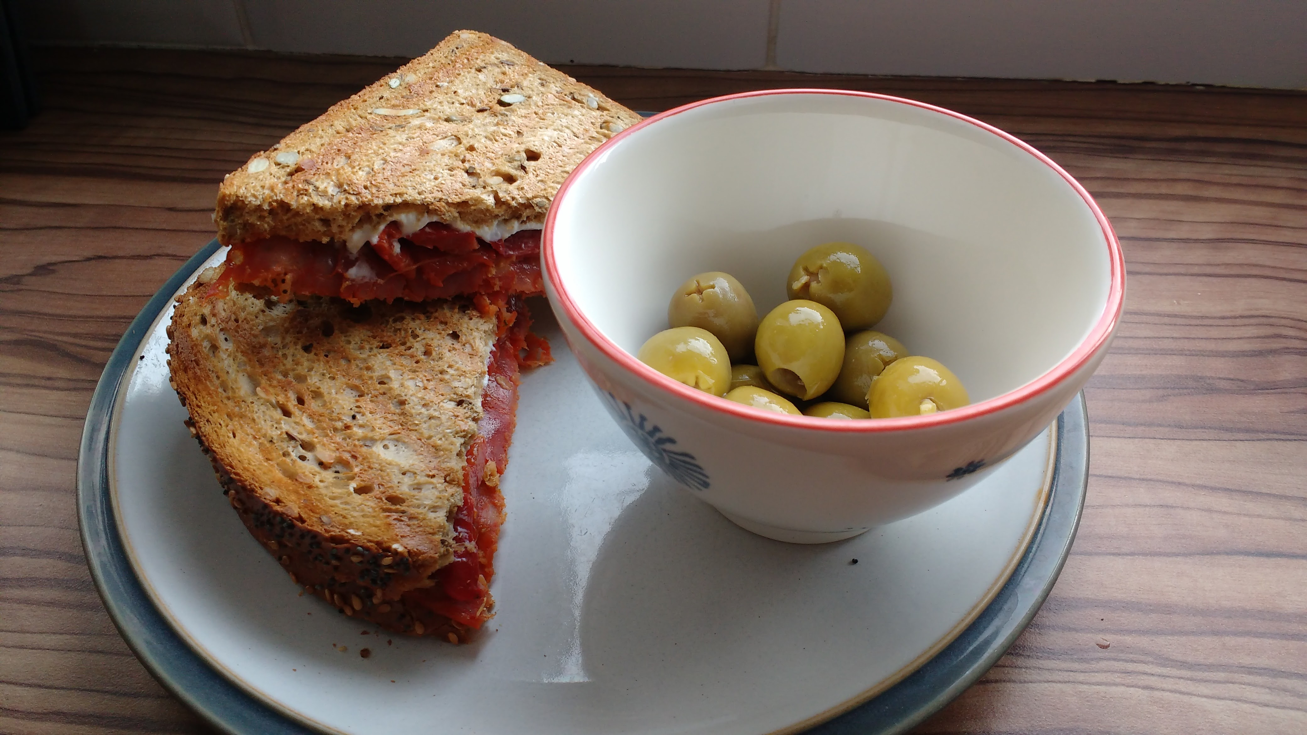 Toastie and Olives