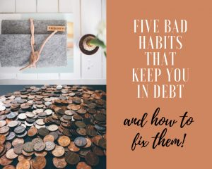 dave ramsey uk follower sharing my five bad money habits