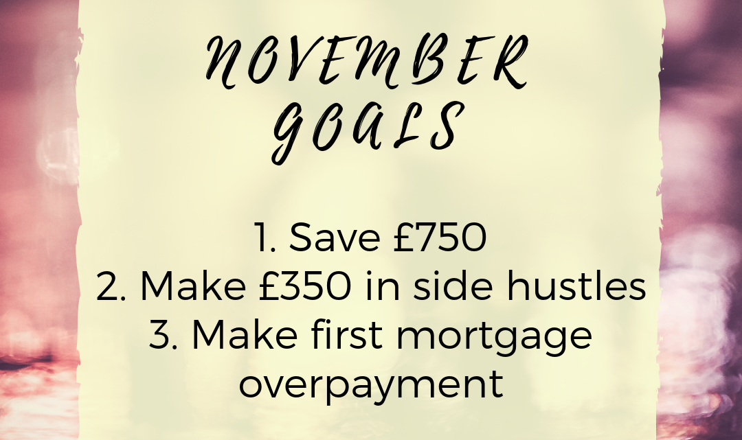 My November Goals and October Round Up