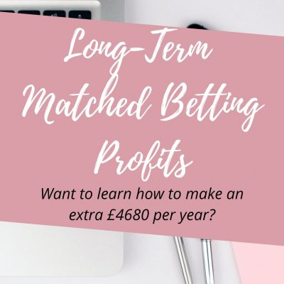 long term matched betting profits