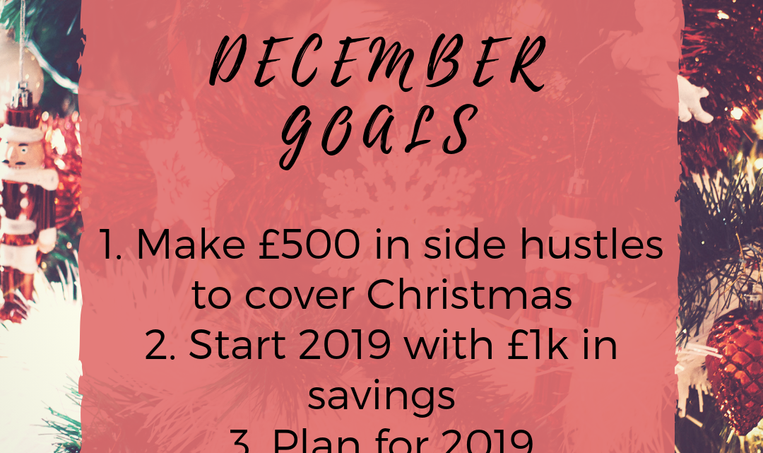 My December Goals and November Round Up