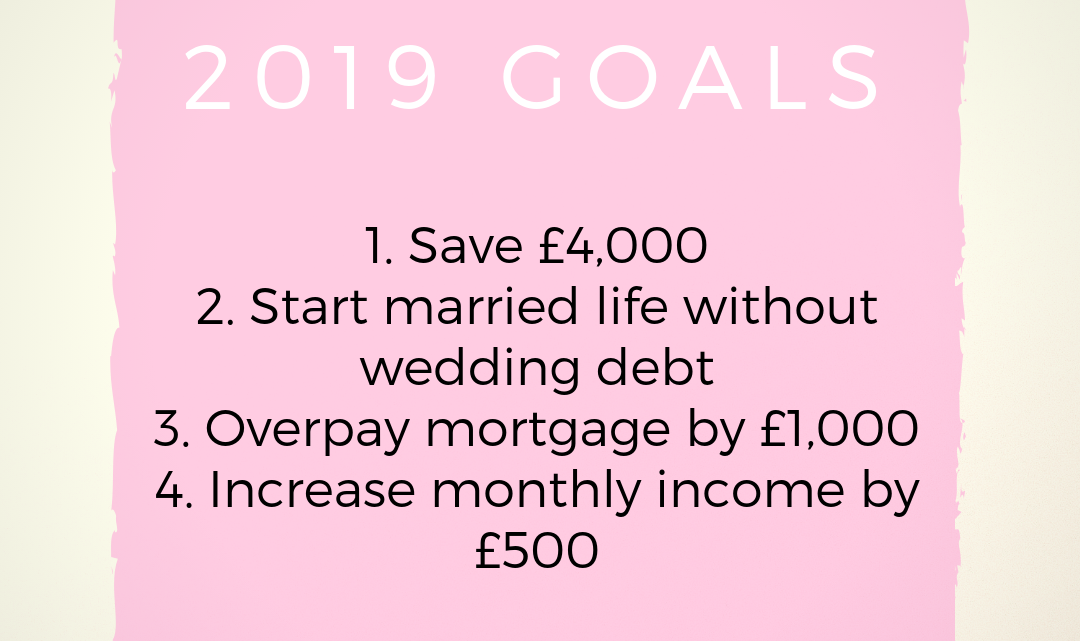 My 2019 Goals and 2018 Round Up