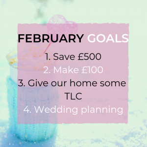 save money make money february goals