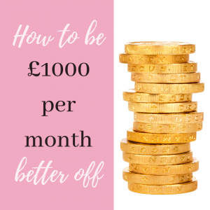how to make money be 1000 per month better off
