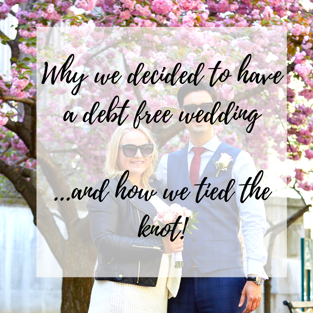 debt free wedding