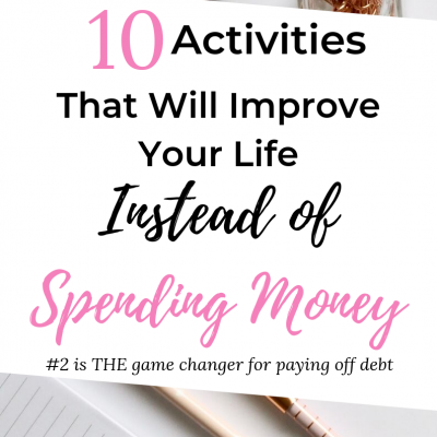 instead of spending money
