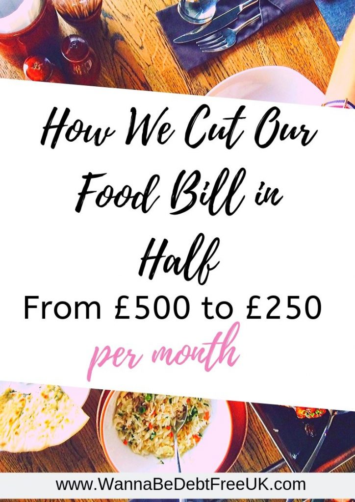 how we cut our food bill in half