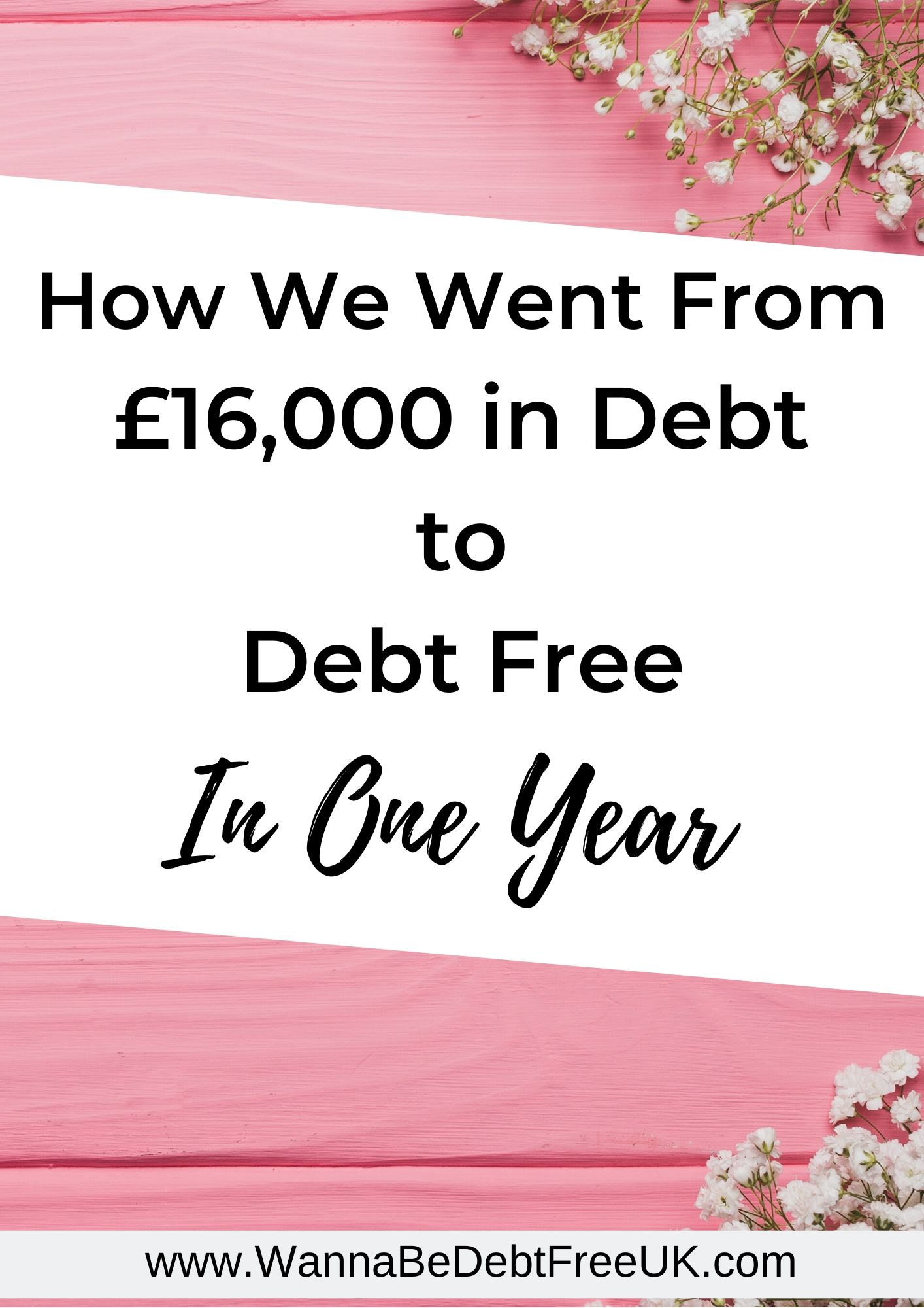 become debt free in one year